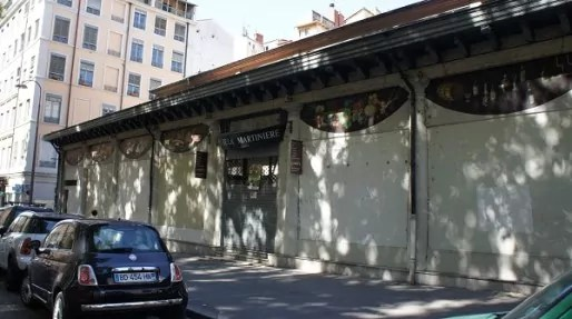 La halle de la Martinière est fermée depuis 2011.