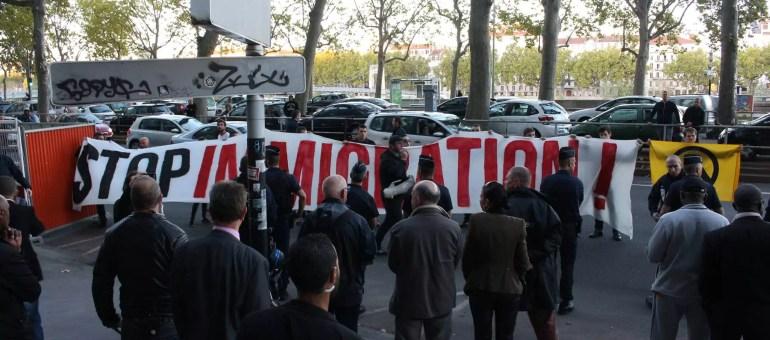 A Lyon, la question des réfugiés excite l'extrême droite radicale