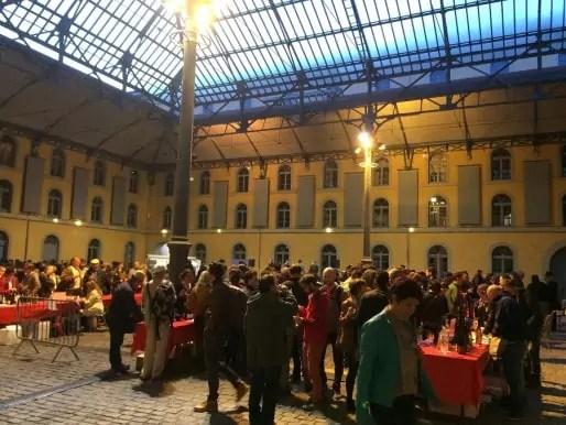 Le salon des vins Rue89Lyon, première édition (en 2014). Crédit : Florence Andrieu.