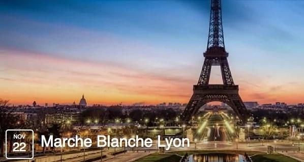 Attentats à Paris : la marche blanche de ce dimanche annulée à Lyon
