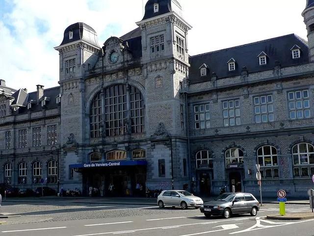 La gare de la ville de Verviers en Belgique. CC zoetnet/Flickr