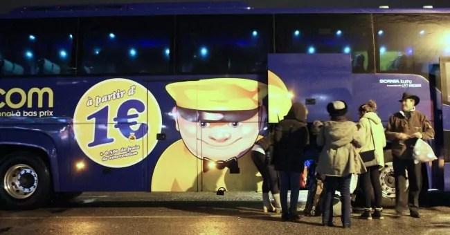 Dans le bus Paris-Lyon à 7 euros: « wifi gratuit mais WC hors-service »