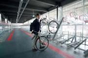 La vélo-station de la gare Matabiau à Toulouse qui peut contenir 678 vélos. © E. Grimault/Région Midi-Pyrénées