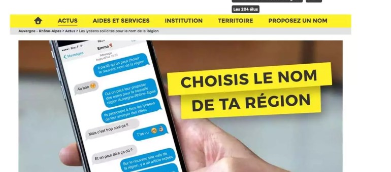 Pour le nom de la nouvelle région, la mascarade de la consultation publique par Laurent Wauquiez