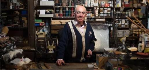 Jacques Baudière, marchand crépin, crédit : Anne Bouillot/Petit Bulletin.