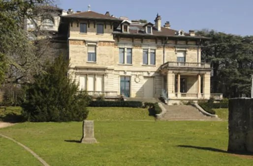 La Villa Gillet nichée au coeur du parc de la Cerisaie (Lyon 4è). DR