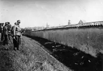L'exécution de sept otages juifs à Rillieux-la-Pape en juin 1944 scellera la condamnation à perpétuité pour crimes contre l'humanité de Paul Touvier. Crédit : SRIJ. Source : CHRD.