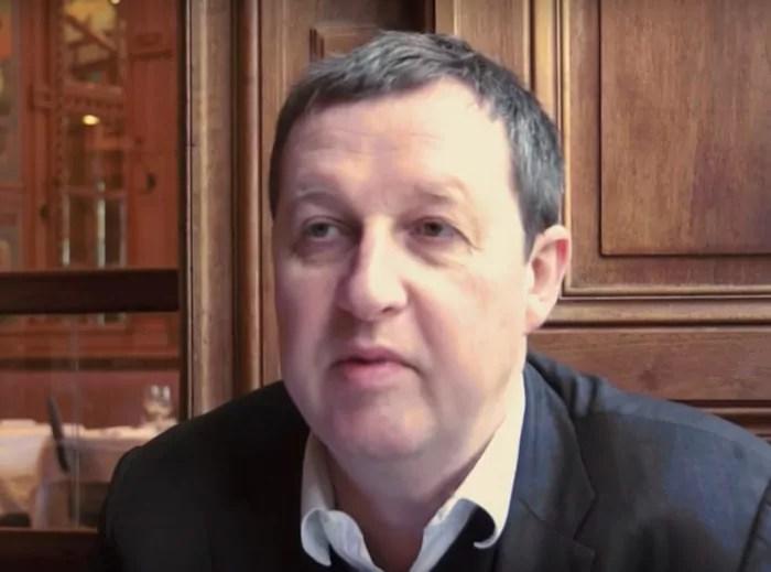 Philippe Forest, capture d'écran.