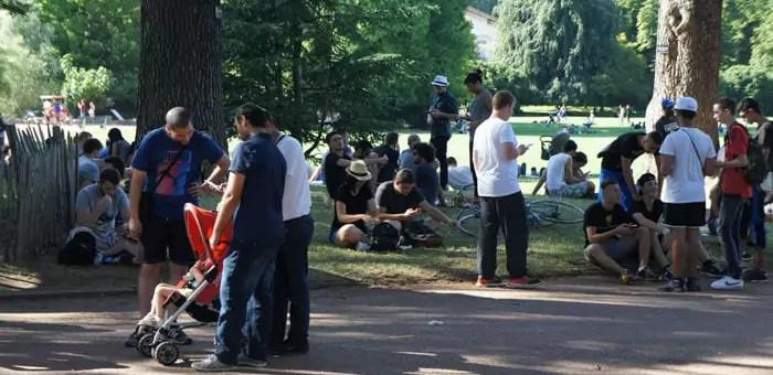 Pokémon Go ou une horde de dresseurs à gérer dans Lyon