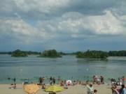 Le lac de Miribel-jonage. CC