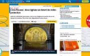 Capture d'écran Le Progrès. vigie-camema-eglise-croix-rousse