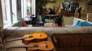 La salle commune du Flâneur. ©LB/Rue89Lyon