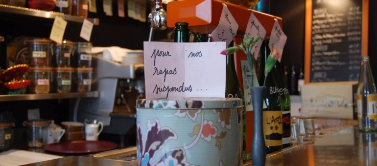 «Aux Bons Sauvages» : cuisine saine et locale, repas «suspendus» et solidaires