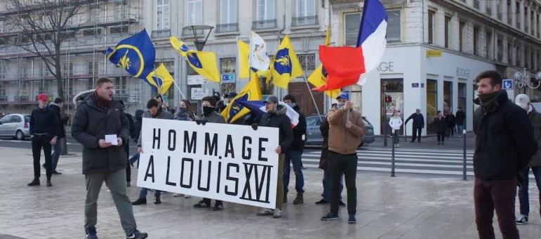 Royalisme, agit-prop et Facebook : le retour de l'Action française à Lyon