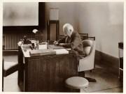 Auguste Lumière dans son bureau. ©CreativeCommons Auteur : Sylvestre