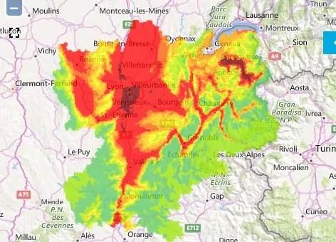 Cet hiver, un troisième pic de pollution à Lyon qui dure