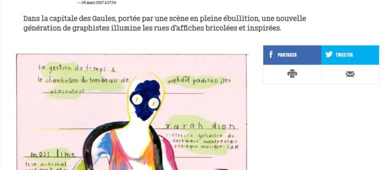 Libé plonge dans les affiches de la scène musicale alternative de Lyon