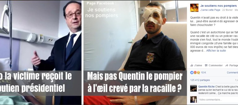 Non, un pompier de Grenoble ne s'est pas fait crever un œil par une «racaille»