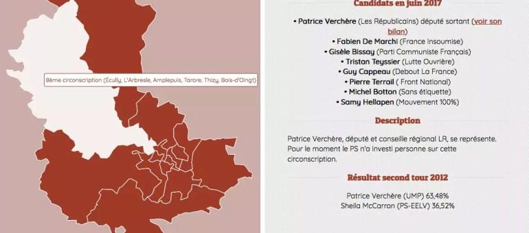 Législatives 2017 : qui sont vos candidats à Lyon et dans le Rhône ?