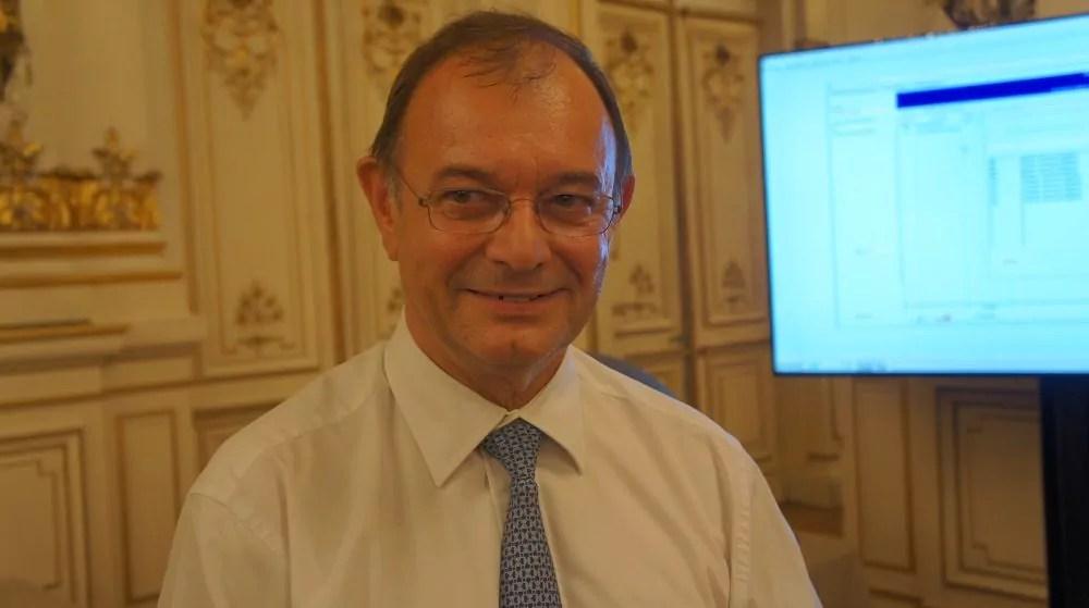 Yves Blein au 2ème tour des législatives à la préfecture du Rhône le 18 juin 2017. ©HH/Rue89Lyon