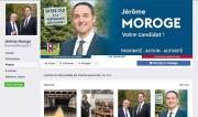 Capture d'écran page facebook de Jérôme Moroge