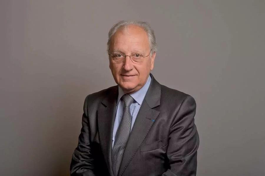 Marc Grivel, maire de Saint-Cyr-au-Mont-d'Or et président du groupe Synergies. Il est le nouveau 1er vice-président ©Métropole de Lyon