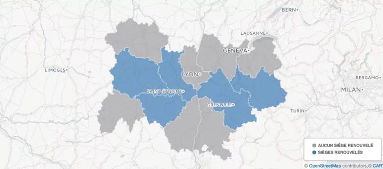 [Carte] Sénatoriales 2017 : la droite progresse en Auvergne-Rhône-Alpes