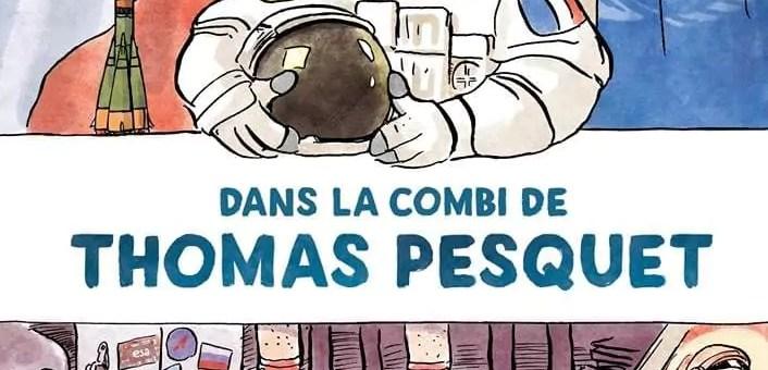 Thomas Pesquet, personnage de BD : «Et en plus, il a de l'humour»