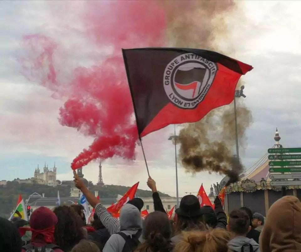 Le drapeau de la Gale. Capture d'écran Facebook.