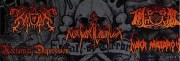 """L'affiche de la deuxième édition """"Call of terror"""", concert de black metal neonazi (NSBM) en Rhône-Alpes"""