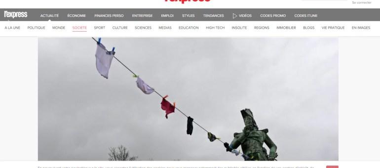 À Poligny, des slips pour aborder la question des rumeurs et des fake news
