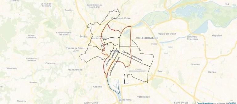 [Carte] Encadrement des locations Airbnb: plus d'un tiers de Lyon concerné