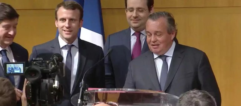 Fauteuils Napoléon III : un «retour d'ascenseur» d'Emmanuel Macron au lyonnais GL Events ?