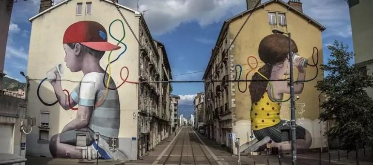 Zoom sur quinze fresques street art emblématiques de Grenoble et de son agglo