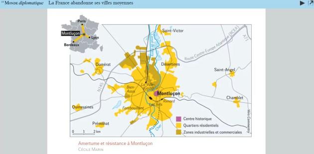 Carte Montluçon
