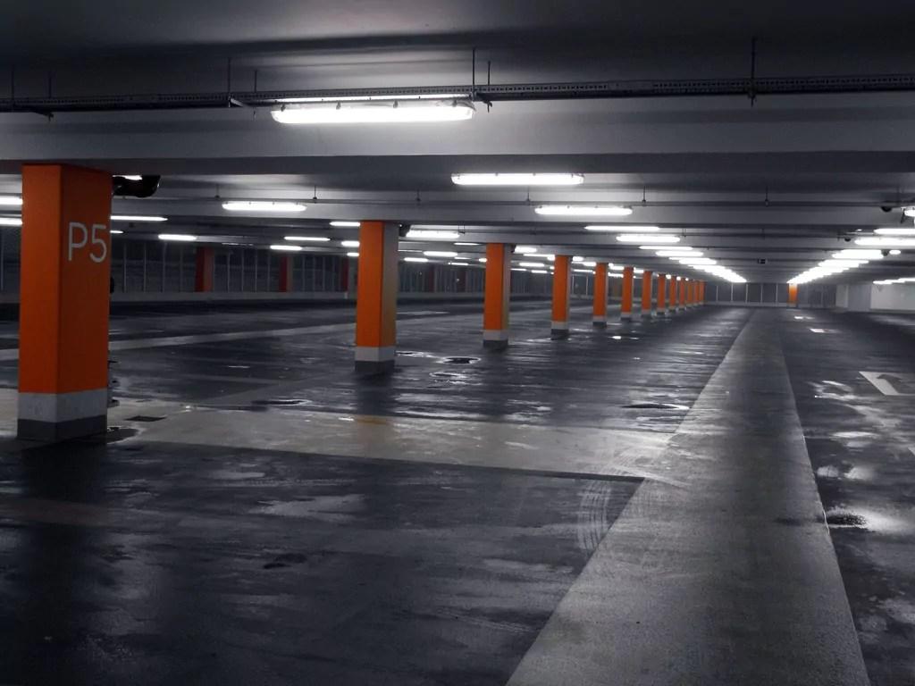 Les places de parking libres à Strasbourg