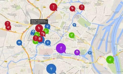 """L'application attribue des """"scores"""" en fonction des propositions les plus discutées (capture d'écran)"""