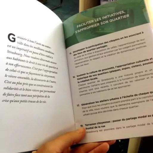 Les 64 propositions sont classées en 6 grands thèmes (Photo MM / Rue89 Strasbourg)