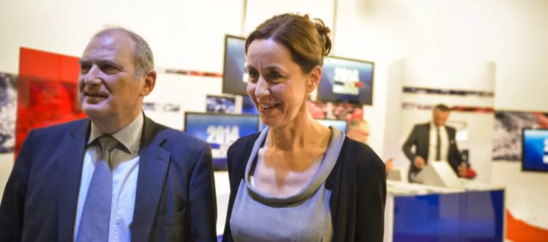 François Loos, numéro 2 sur la liste de Fabienne Keller