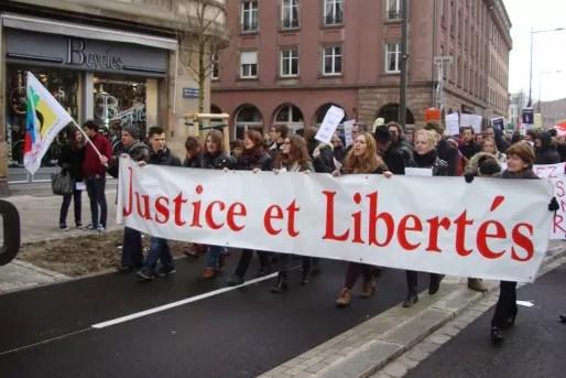 Le Collectif Justice et Libertés organisent une marche contre la montée de l'extrême-droite, samedi 17 mai. (photo Collectif Justice et Libertés/cc)