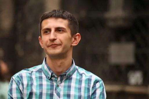 Alim Aliev accueille les déplaces de l'est, notamment les Tatars de Crimée qui continuent d'affluer. (Photo Bulli Tour)