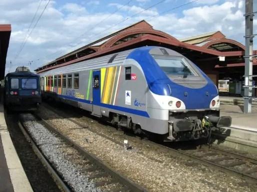 Un TER Alsace (Photo Wikimedia Commons /cc)