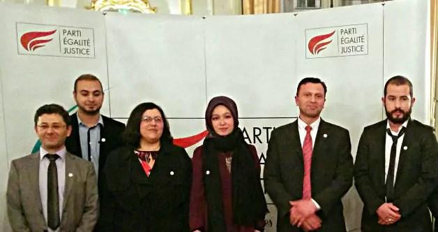 Le Parti Égalité Justice, nouveau parti musulman, veut se présenter à toutes les élections