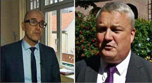 Éric Straumann et Frédéric Bierry, futurs présidents des départements alsaciens