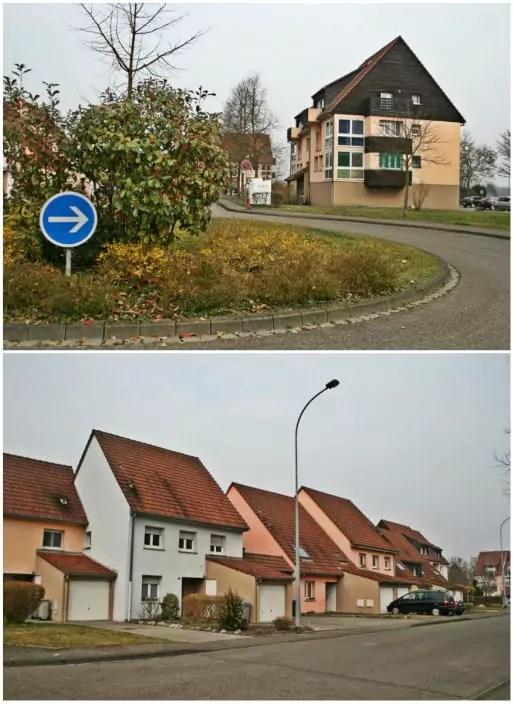 La Cité des Joncs, au nord du quartier, inaugurée en 1991 (Photos MM / Rue89 Strasbourg)