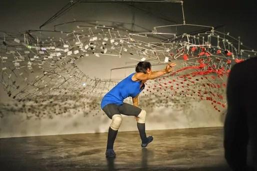 Reflector, performance de Marie-Pan et Joseph Kieffer (doc. remis)
