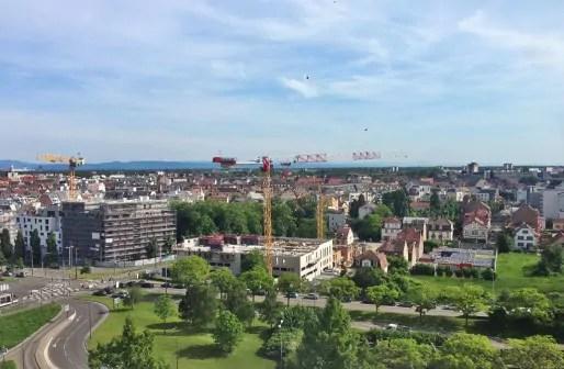 Strasbourg construit dans ses espaces vides. L'enjeu est de concilier. De la végétation sur les toitures est attendu (Photo JFG / Rue89 Strasbourg)