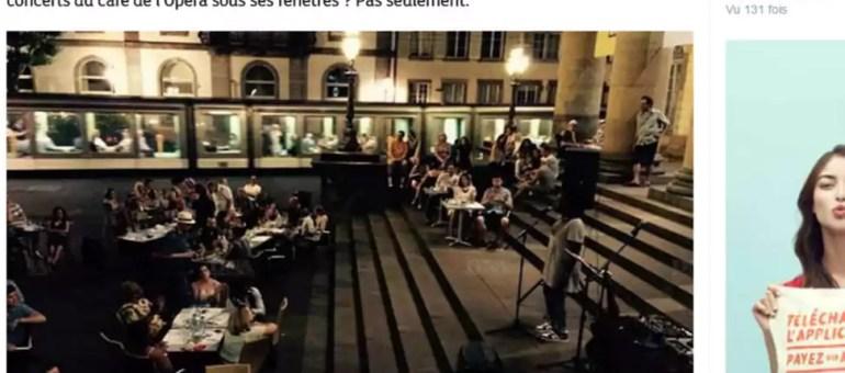Quand il devient impossible de faire un concert extérieur à Strasbourg