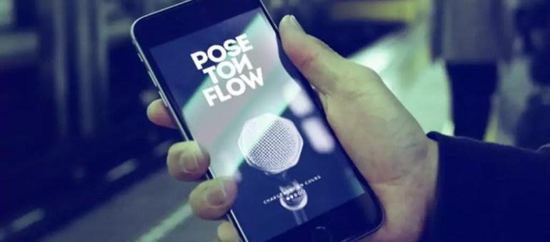Pose Ton Flow, ou comment la jouer Jay Z devant son téléphone