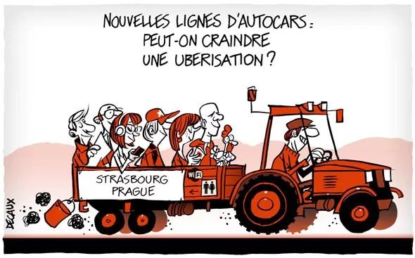 Nouvelles Lignes Dautocars La Concurrence Sorganise